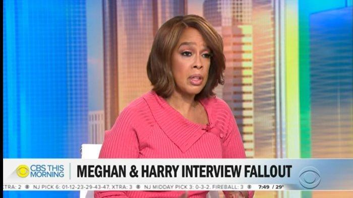 Gayle King menceritakan tentang kabar terbaru dari Pangeran Harry saat di CBS This Morning, Selasa (16/3/2021).