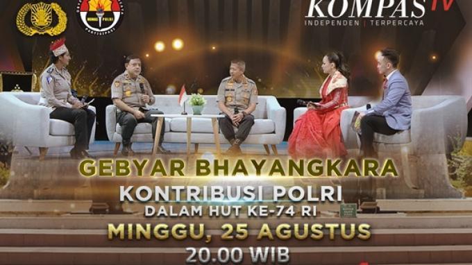 Gebyar Bhayangkara, Program Baru KompasTV Yang Mengangkat Kisah Inspiratif Kepolisian