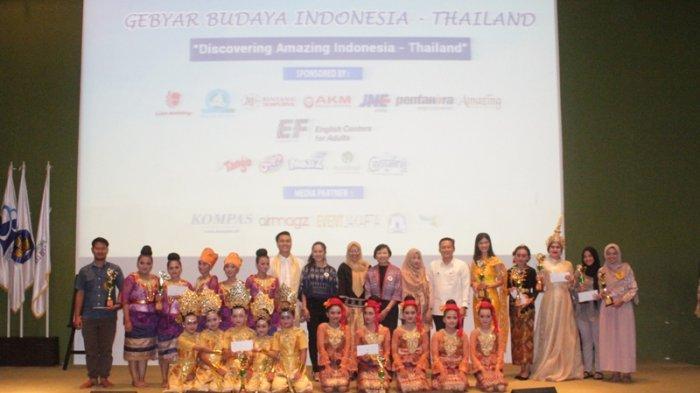 Gebyar Budaya Indonesia-Thailand Dibuka Rektor Universitas Mercu Buana