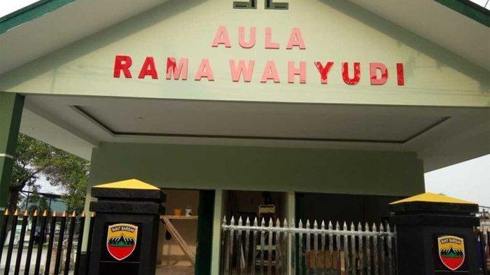 Rama Wahyudi Dijadikan Nama Gedung Aula Denpal 1/4 Pekanbaru