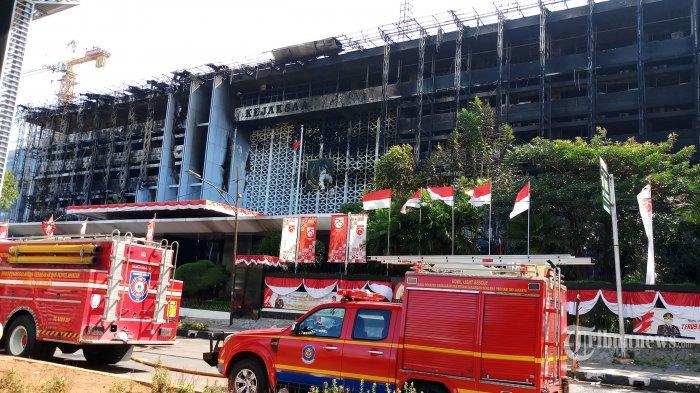 Soal Kebakaran Kejaksaan Agung, Mahfud MD Minta Tak Kaitkan dengan Kasus Djoko Tjandra, Berkas Aman