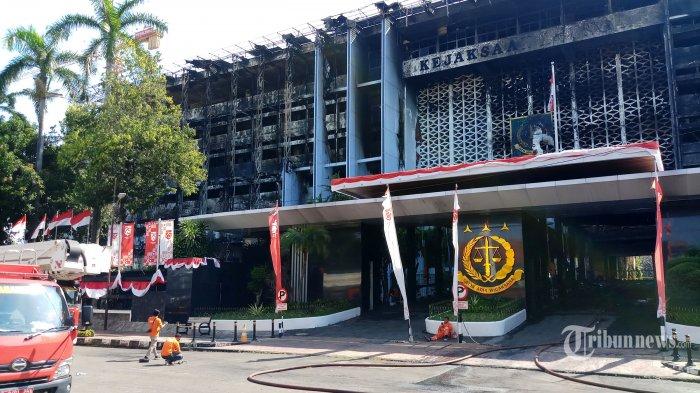 Kejaksaan Agung Dukung Upaya Polri Temukan Tersangka Kasus Kebakaran Gedung Kejagung