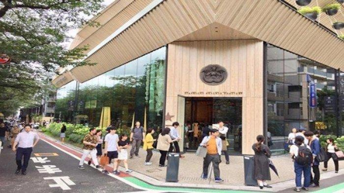 Gedung Starbucks terbesar di Jepang 5 lantai yang ada di Naka Meguro Tokyo