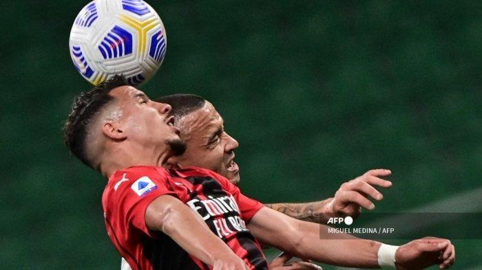 HASIL Babak I AC Milan vs Cagliari Liga Italia, Rossoneri Kesulitan Cetak Gol, Skor 0-0