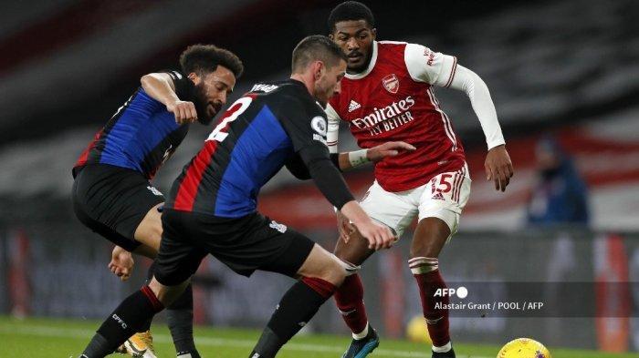 HASIL Liga Inggris - Imbang Tanpa Gol dengan Crystal Palace, Arsenal Ulangi Catatan 23 Tahun Silam