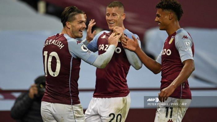 JADWAL Live Streaming Liverpool vs Aston Villa Liga Inggris, The Villans Tanpa Jack Grealish