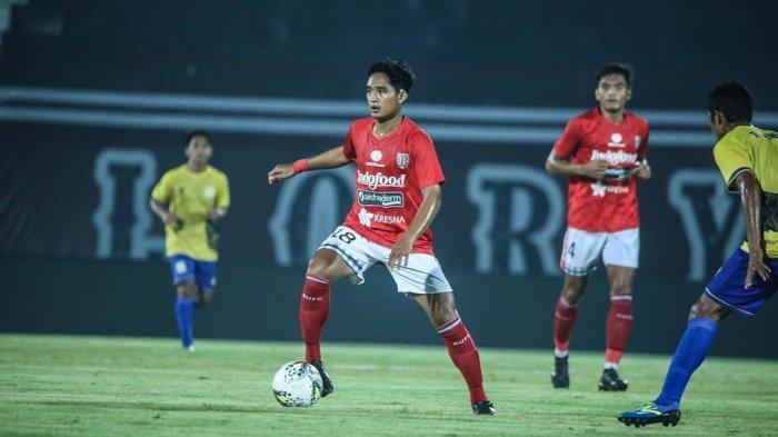 Gelandang Bali United, Kadek Agung Widnyana Putra