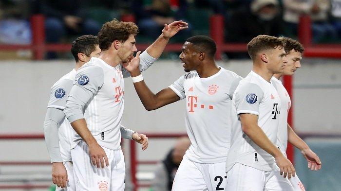 Hasil Lokomotiv Moscow vs Bayern Munchen, Gol Goretzka Bawa Die Roten Unggul di Paruh Pertama