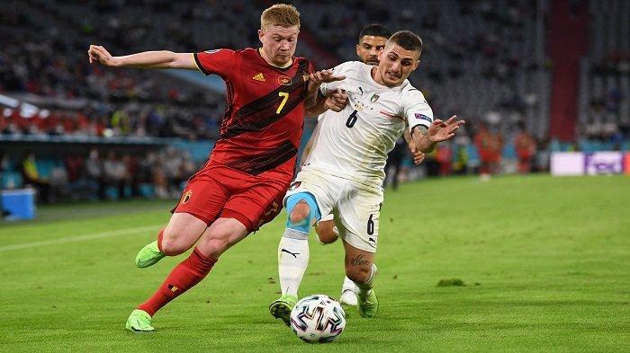 Kevin De Bruyne Kecewa Belgia Kalah, Akui Gol Insigne Tapi Sesalkan Gol Pertama