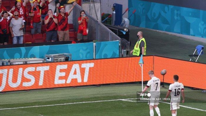 Euro 2020 -  De Bruyne Jelaskan Arti Selebrasinya di Pinggir Lapangan, Penghormatan Kepada Eriksen