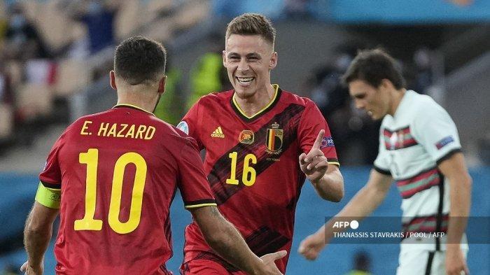 VIDEO Gol Thorgan Hazard yang Mengubur Mimpi Cristiano Ronaldo cs Mempertahankan Juara Eropa