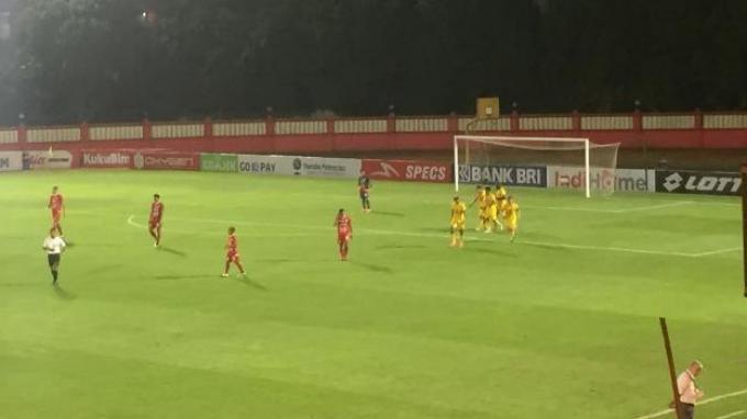 Bhayangkara FC Vs Persija: Berhias Gol Spektakuler, Macan Kemayoran Tertinggal 0-3