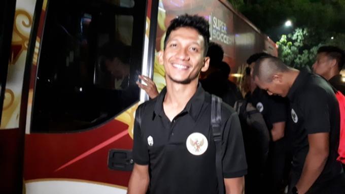 Gelandang Bhayangkara FC Teuku Muhammad Ichsan
