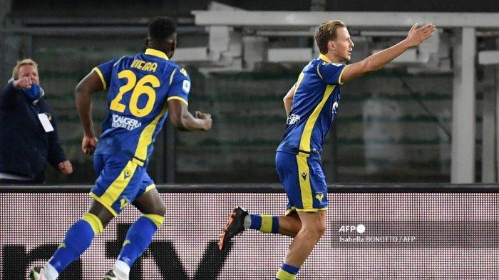 HASIL Liga Italia - Juventus Diguyon Verona, Barak: Kami Memenangkan Scudetto