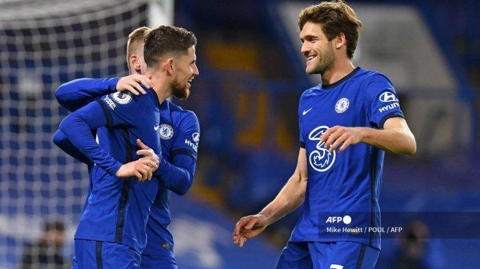 HASIL Chelsea vs Everton Liga Inggris - Jorginho Spesialis Penalti, The Blues Kian Mantap di 4 Besar