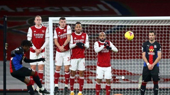 SEDANG BERLANGSUNG Live Streaming TV Online SCTV Arsenal vs Benfica Liga Eropa, Tonton di Sini