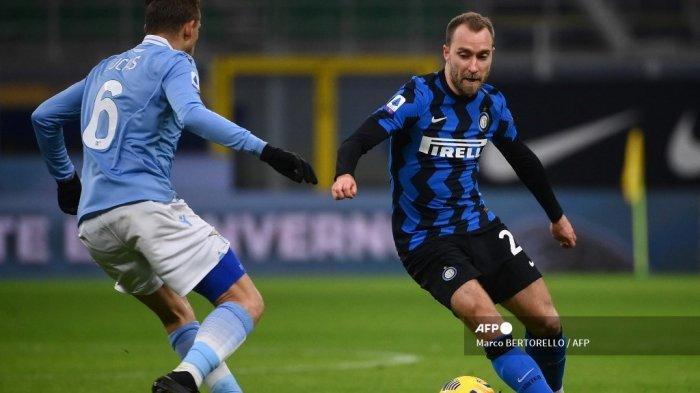 Hasil Liga Italia, Inter Milan vs Lazio: Bermain Selama 72 Menit, Eriksen Dinilai Mulai Berkembang