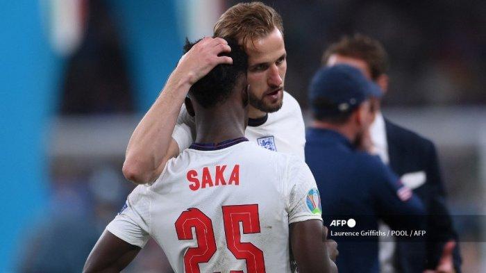 Inggris Gagal Juara Euro 2021: Apesnya Bukayo Saka dari Duo Manchester United, Rashford dan Sancho