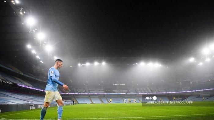 Link Live Streaming Man City vs <a href='https://manado.tribunnews.com/tag/psg' title='PSG'>PSG</a>, Guardiola Waspadai Comeback Kylian Mbappe Cs