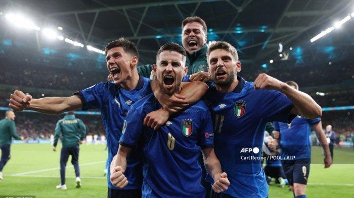 Catatan Dahsyat Italia ke Final EURO 2020, Azzurri Tak Terkalahkan di 33 Laga Beruntun!
