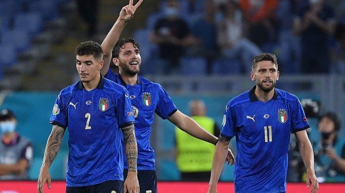 Klasemen Grup A Euro 2020: Italia Lolos ke Babak 16 Besar, Penentuan Juara Grup Lawan Wales