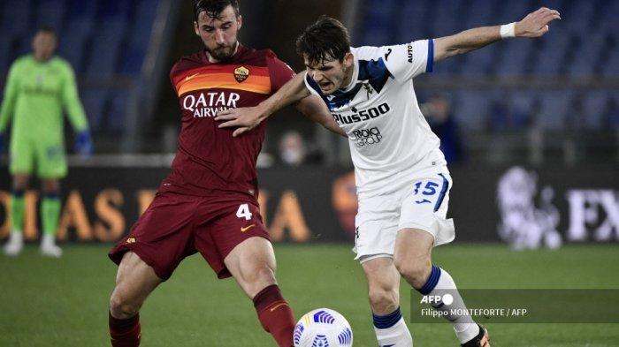 HASIL Liga Italia: Gol Cristante Paksa 10 Pemain Atalanta Imbang 1-1, La Dea Gagal Geser AC Milan