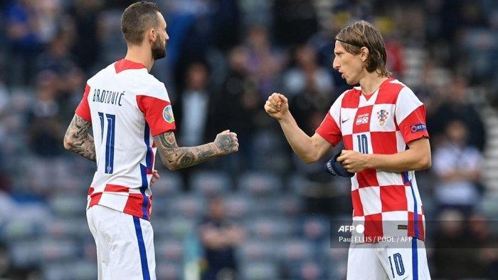 Live RCTI & Mola TV, Kroasia vs Spanyol 16 Besar Euro 2020, Berikut Susunan Pemainnya, Tonton HP