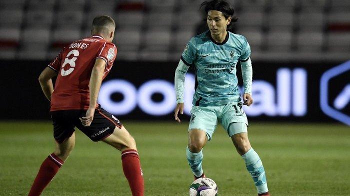 Hasil Lincoln vs Liverpool, Jurgen Klopp Temukan Posisi Ideal Takumi Minamino