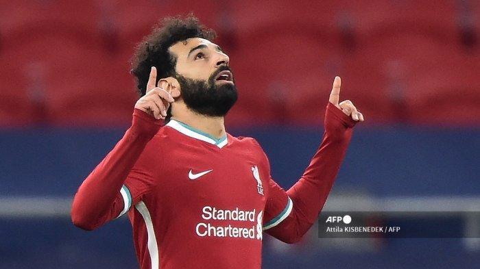 HASIL Babak Pertama West Brom vs Liverpool Liga Inggris, Mohamed Salah Cetak Gol, Skor Imbang 1-1