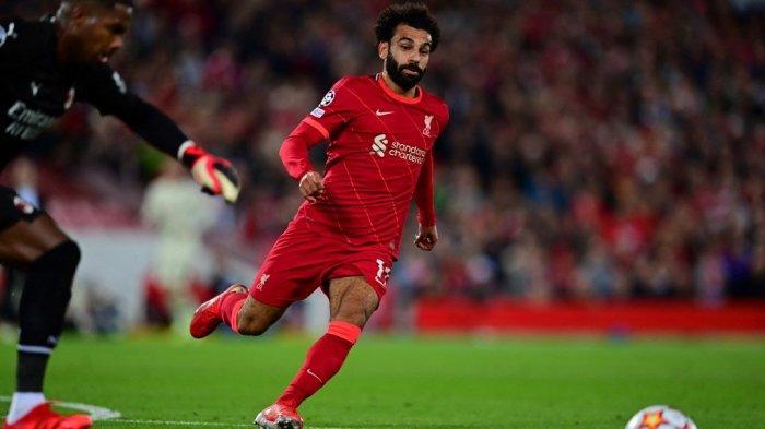 Hasil Liverpool vs AC Milan, Babak Pertama Liga Champions, Salah Gagal Penalti Rossonerri Unggul 1-2