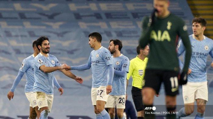 Link Live Streaming Arsenal vs Manchester City, De Bruyne dan Aguero Kembali, The Citizens Digdaya