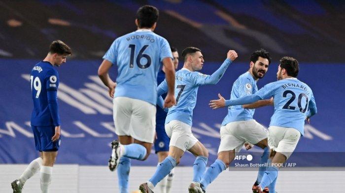 LINK Live Streaming & Susunan Pemain Manchester City vs Brighton Liga Inggris, Akses di Sini