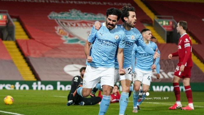 Dibalik Performa Menawan Manchester City, Bukti Kejelian Guardiola Optimalkan Peran Gundogan