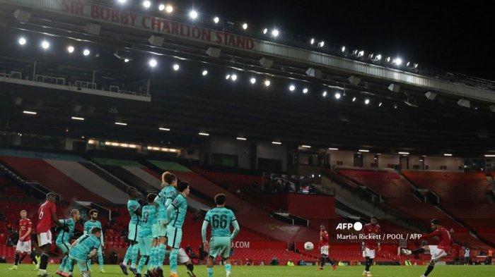 HASIL Piala FA: Gol Tendangan Bebas Bruno Fernandes Bawa Manchester United Singkirkan Liverpool