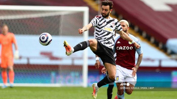 Hasil Liga Inggris, Pecundangi Aston Villa, Bruno Fernandes Ukir Rekor Bersejarah di MU