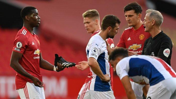 Hasil Akhir MU vs Crystal Palace di Liga Inggris, Gol Debut van de Beek Gagal Selamatkan Tuan Rumah
