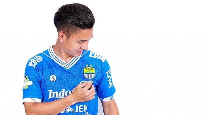 Gelandang Persib Bandung, Kim Jeffrey Kurniawan.