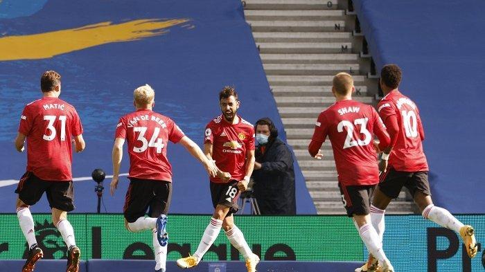Hasil Newcastle vs Manchester United Babak I - Bruno Fernandes Penyelamat Setan Merah