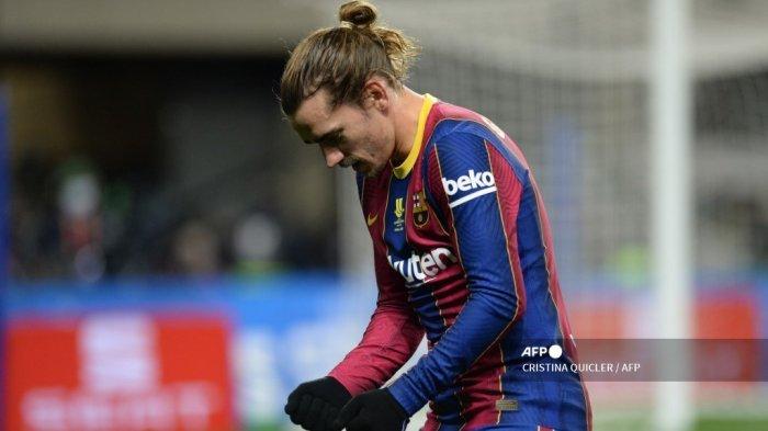 Antoine Griezmann Telah Kembali Berlatih Bersama Barcelona