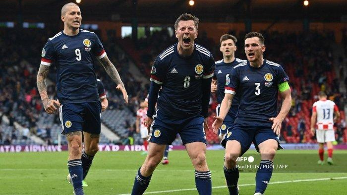 Hasil Kroasia vs Skotlandia: 45 Menit Pertama Seru, McGregor Bikin Skor Sama Kuat 1-1