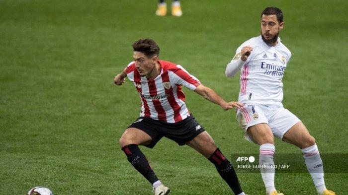 HASIL Real Madrid vs Athletic Bilbao: Los Blancos Gagal Total, Zidane Bahas Performa Eden Hazard