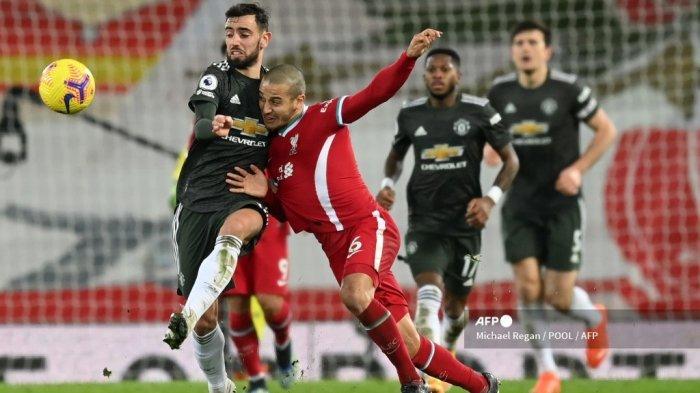 JADWAL Live Streaming Liverpool vs Chelsea, Scholes: Thiago Lebih Cocok Main di Manchester United