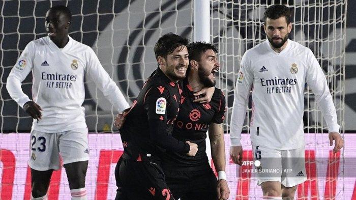 HASIL LIGA SPANYOL: Vinicius Selamatkan Muka Real Madrid di Kandang, El Real Gagal Geser Barcelona