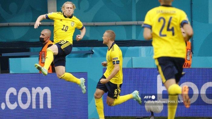 Nonton Live Streaming Swedia vs Ukraina Euro 2021, Menanti Lawan Inggris, Tayang Mola TV & RCTI