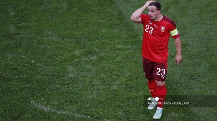 Hasil Euro 2021, Swiss Disingkirkan Spanyol Lewat Adu Penalti, Shaqiri: Kami Hanya Kurang Beruntung