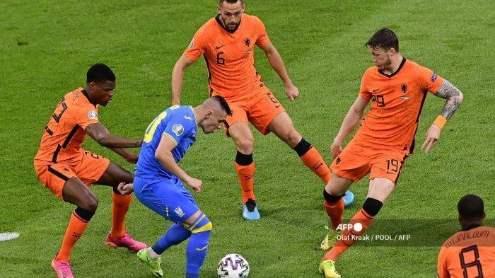 SEDANG TAYANG Belanda vs Austria di RCTI dan Mola TV, Adu Kuat Penghuni Grup C Euro 2020