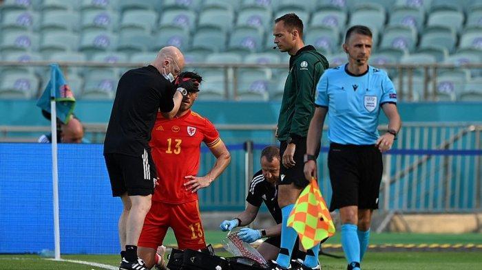 HASIL Wales vs Swiss Euro 2020, Insiden Berdarah Kieffer Moore Warnai Babak Pertama, Skor 0-0