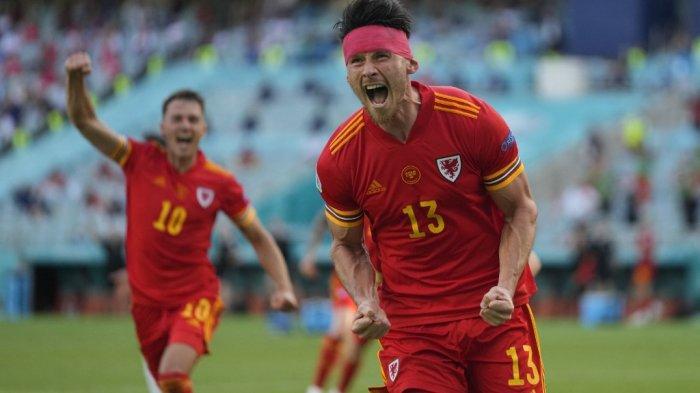 HASIL Wales vs Swiss Euro 2020, 2 Gol Sundulan Kieffer Moore dan Breel Embolo, Skor Imbang 1-1