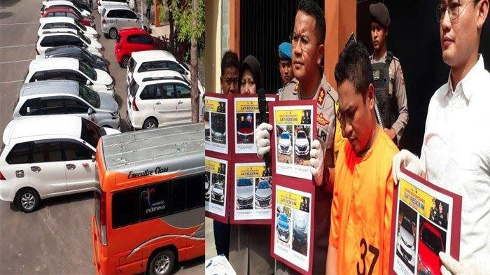 Gelapkan 17 Mobil Rental Milik Tetangga Masing-Masing Mulai Rp 30-50 Juta per Kendaraan