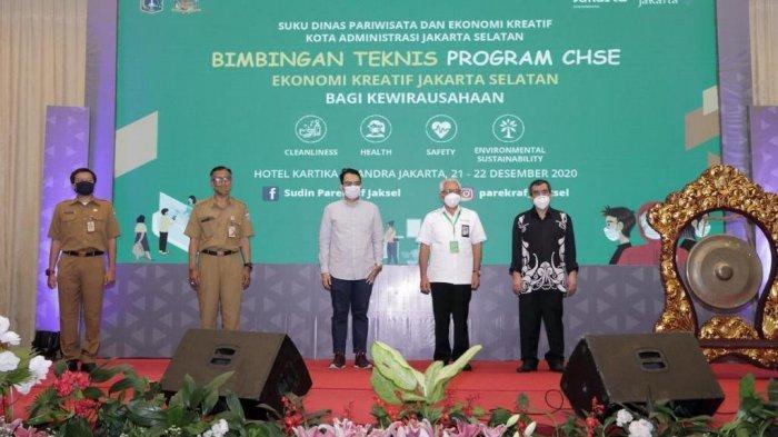 Sudin Parekraf Jakarta Selatan Gelar Bimbingan Teknis Program CHSE untuk Sektor Ekonomi Kreatif